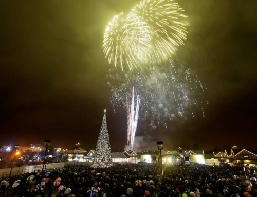 The Perfect Christmas Lights Switch-On