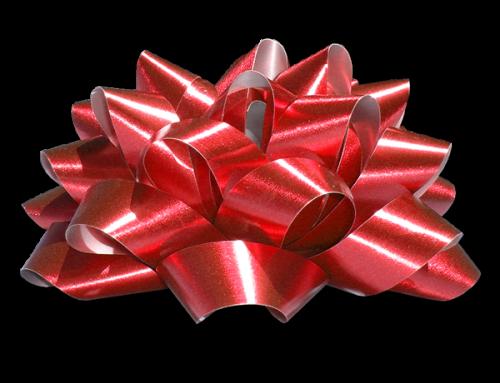 Ribbon Paper Scissors