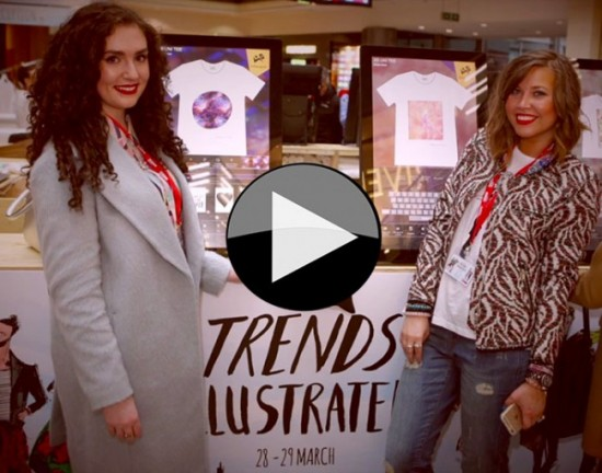 Video footage of the popular and busy Trends Illustrated event at Manchester Arndale