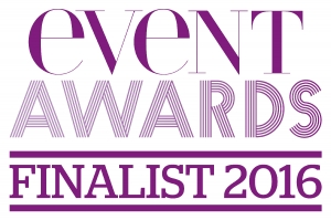 Logo for Event Award finalists 2016