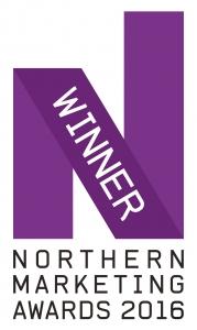 Logo for Northern Marketing Awards Winner 2016