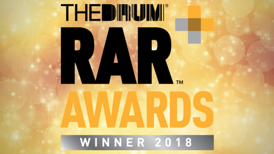 Winner of The Drum RAR Award, Events